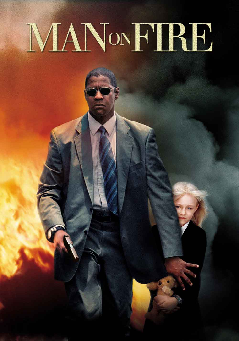 man on fire movie banner