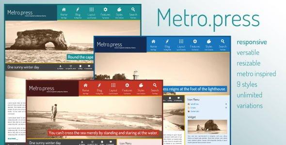 metropress expressive wordpress theme