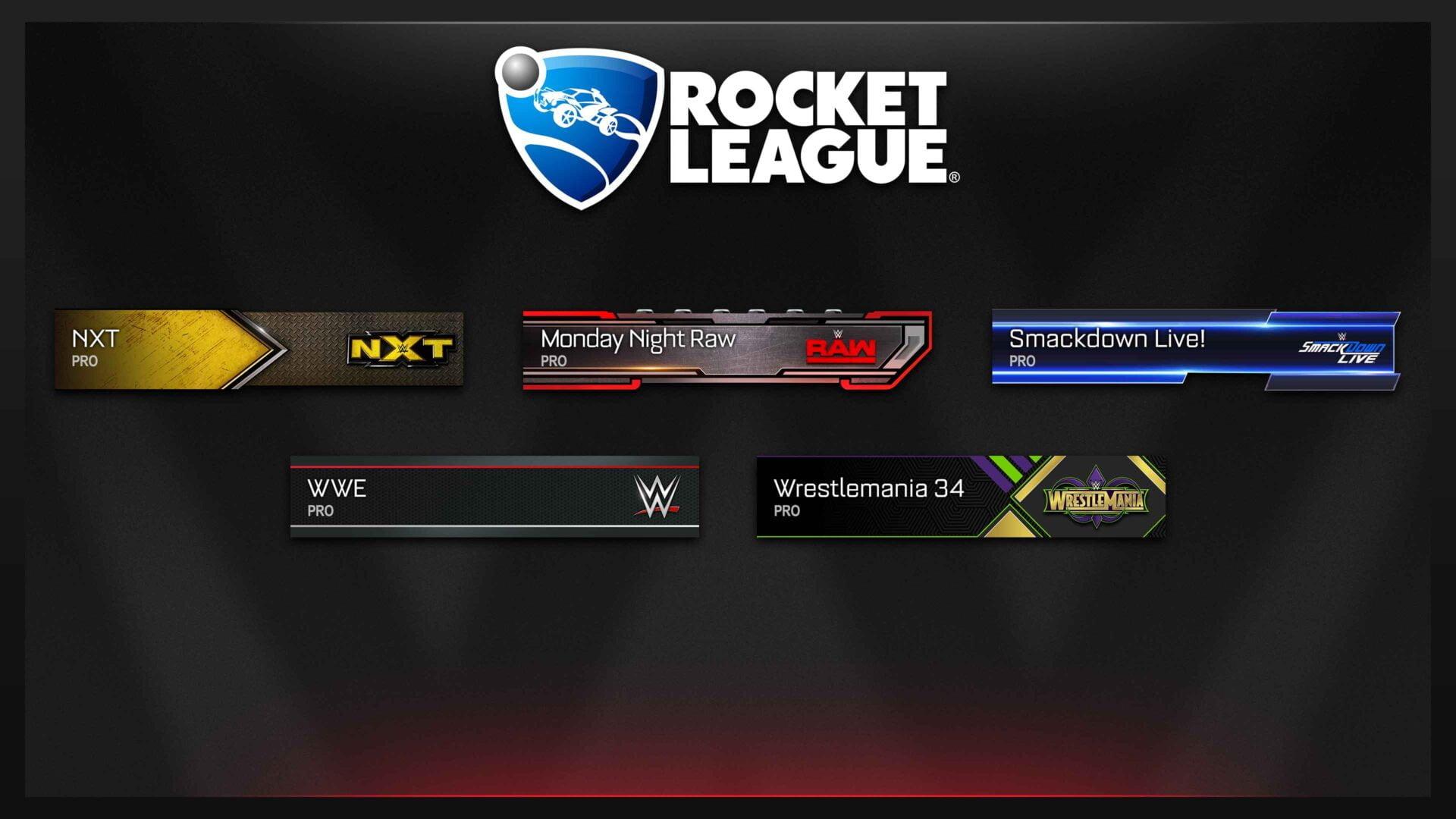 rocket league wwe sancak
