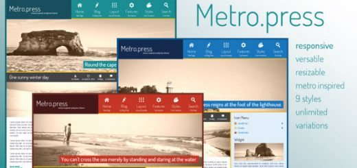 metropress expressive wordpress theme