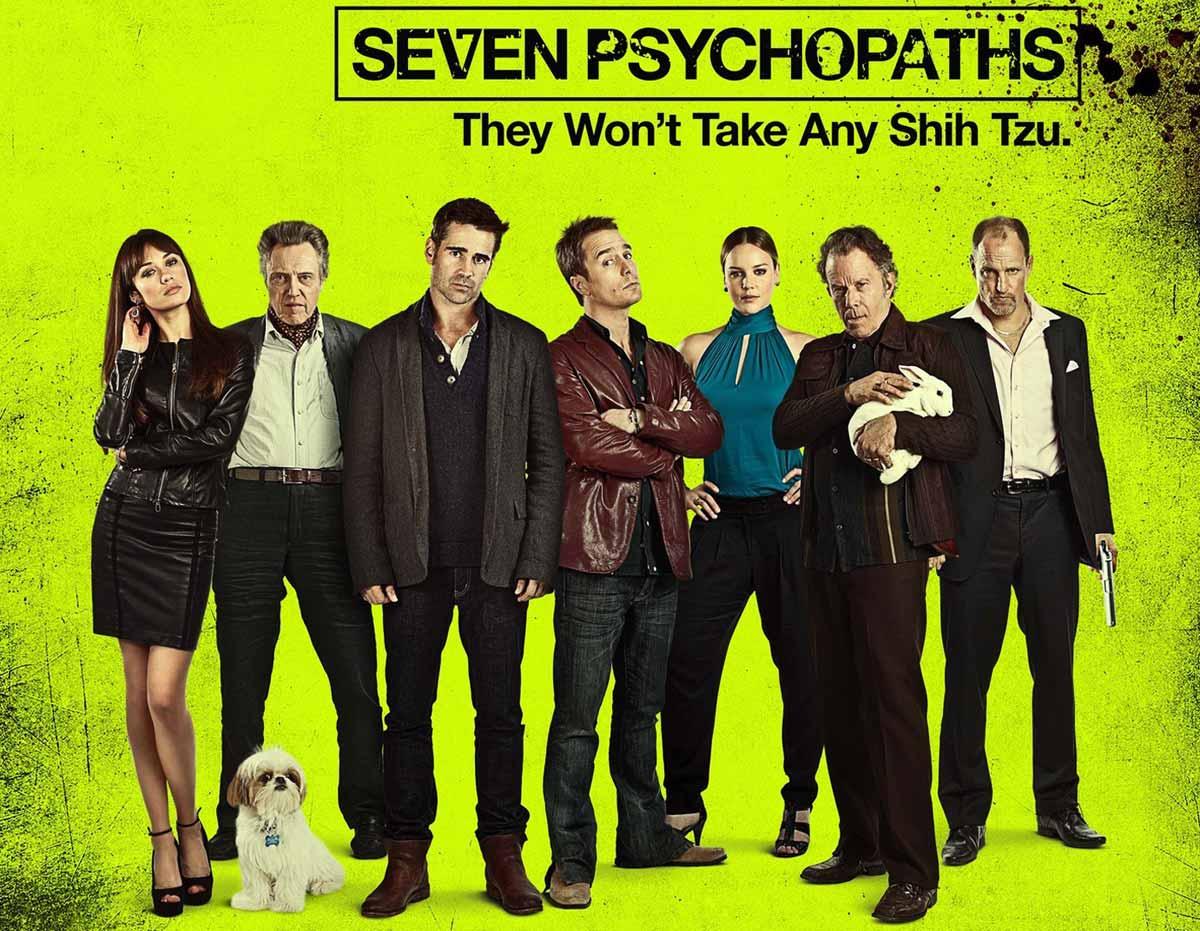 yedi psikopat 2012