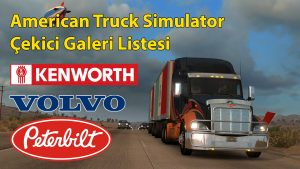 american simulator çekici galeri listesi