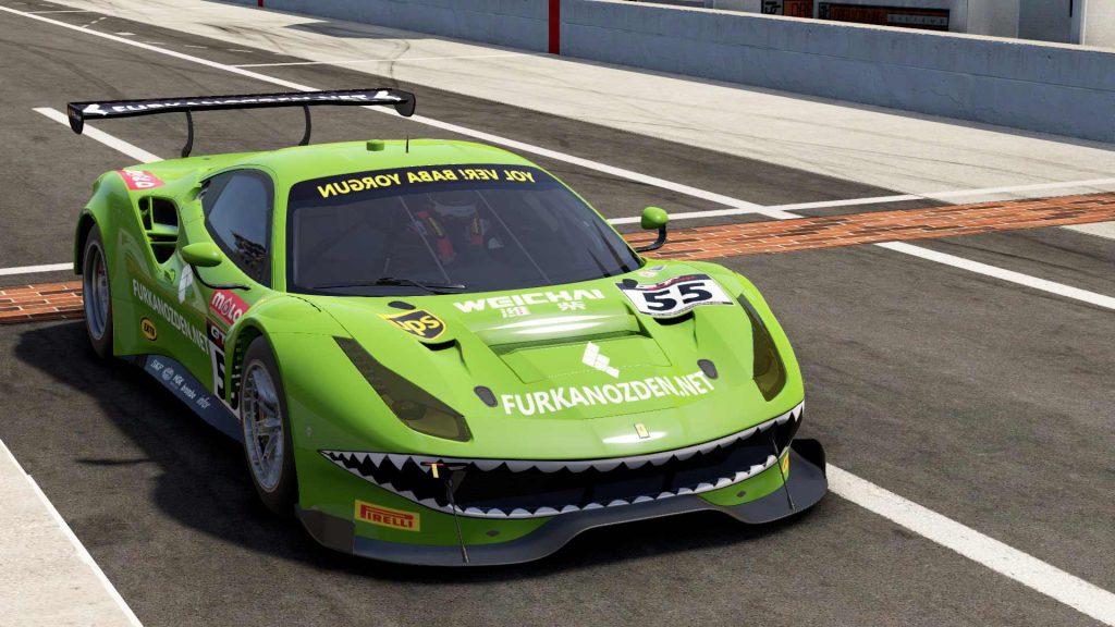 project cars 2 ferrari gt3 furkanozden livery
