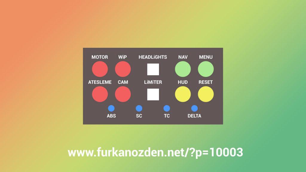 usb buton kutusu tasarımı