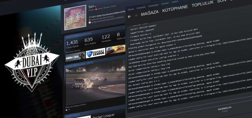 steam konsol açma ve komutlar