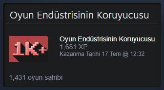 steam oyun koleksiyoncusu