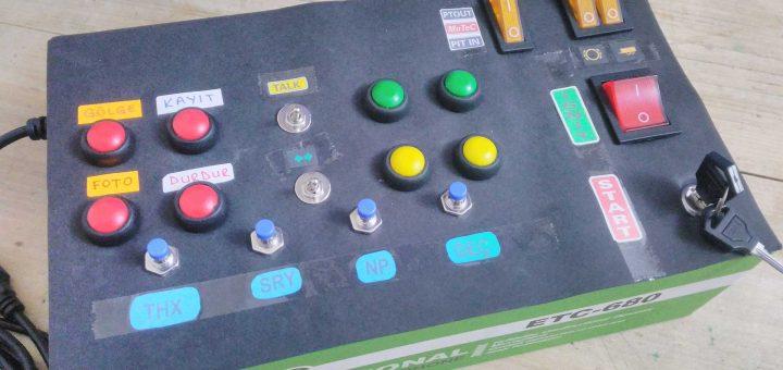 usb buton kutusu genel görünüm
